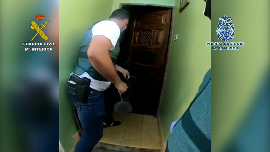 Policía Nacional y Guardia Civil desarticulan una organización criminal que traía cocaína líquida a Tenerife y La Palma procedente de Bolivia