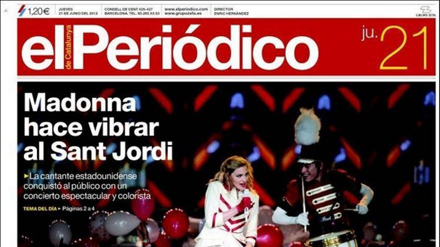 De las portadas del día (21/06/2012) #9