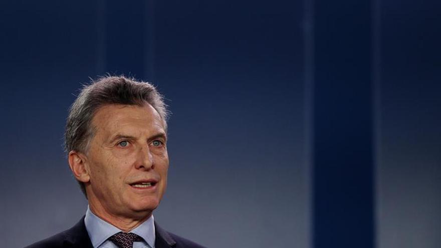 El presidente de Argentina mantiene una conversación telefónica con Donald Trump