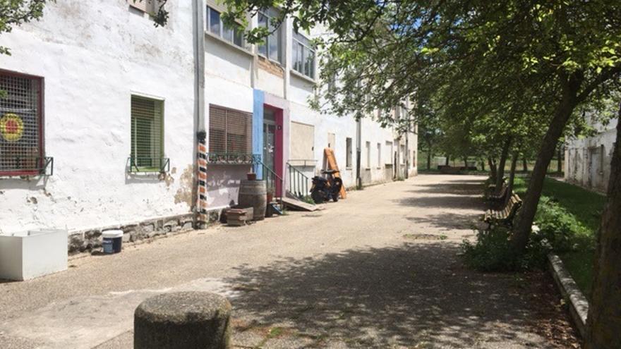 Una de las calles del barrio de Errekaleor