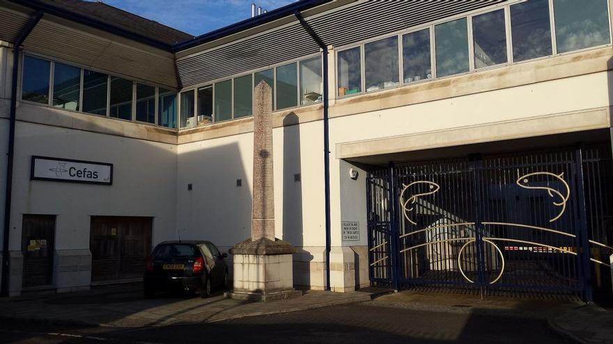 Actual sede del CEFAS en WayMouth (Reino Unido)