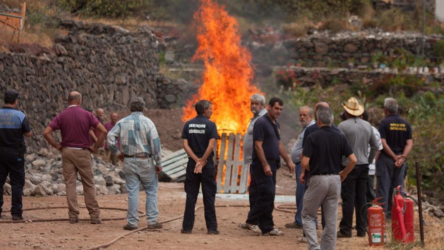 Jornada formativa y de concienciación de incendios en La Gomera