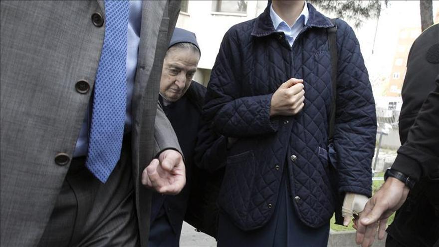Suspendida la declaración de Sor María sobre niños robados por motivos de salud