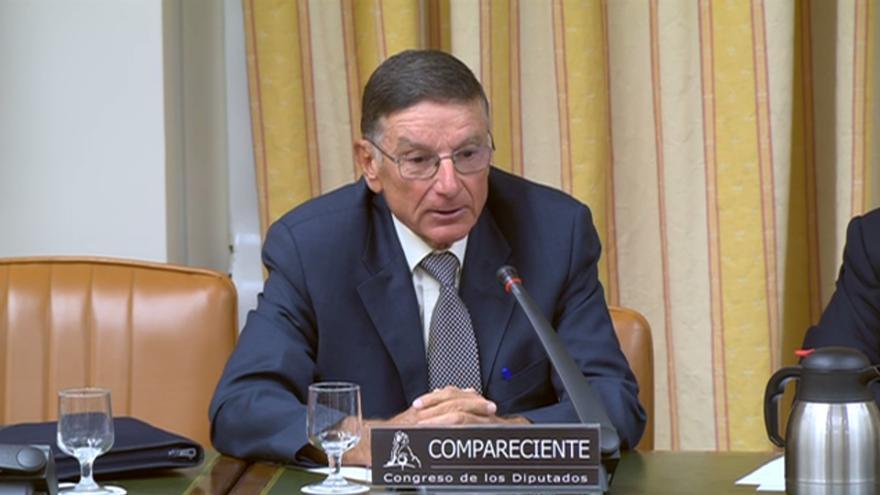 Vicente Rallo Guinot, presidente de la Comisión de Investigación de Accidentes Ferroviarios (CIAF) de Fomento cuando se investigó el accidente del Alvia