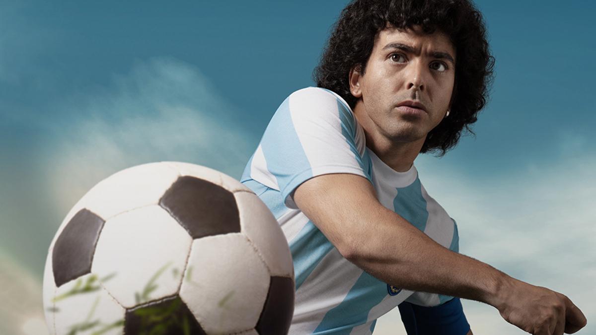 Imagen promocional de 'Maradona: Sueño bendito'