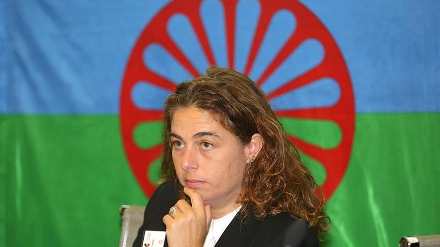 La viceconsejera de Derechos Sociales del Gobierno de Canarias, Gemma Martínez, participó este jueves en la Jornada internacional Estrategias contra el antigitanismo.