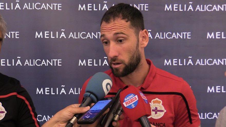 Dani Giménez, portero del Deportivo