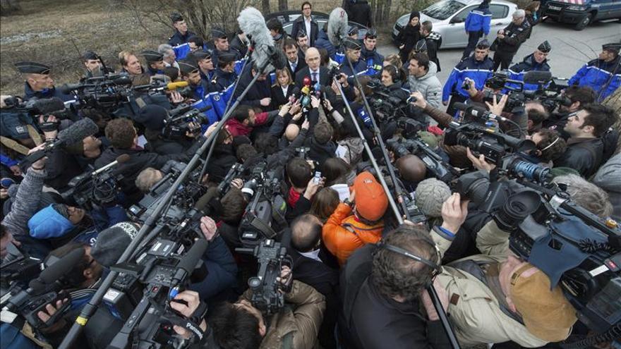 El fiscal de Marsella encargado de la investigación del accidente, Brice Robin, atiende a los medios / Foto: EFE