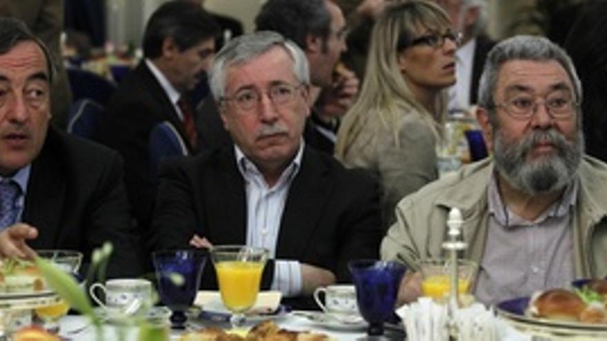 Rosell, Toxo y Méndez.