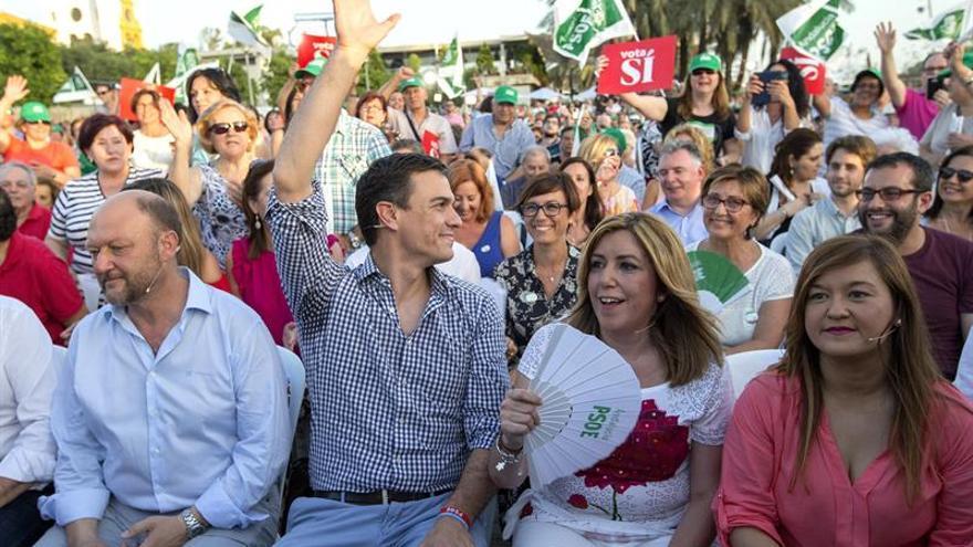 """Sánchez pide a la gente """"vacunar del populismo y el nacionalismo"""" a España"""