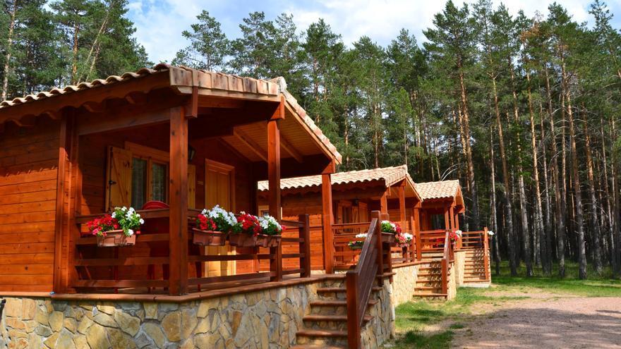 Camping Orea (GUADALAJARA) FOTO: Asociación de Empresarios de Camping de Castilla- La Mancha (AECCAM)