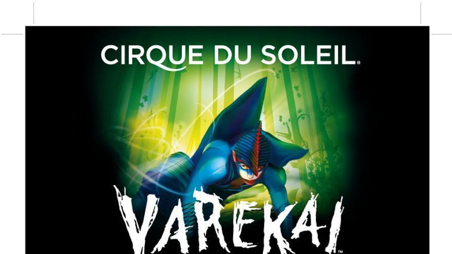 Cirque du soleil está de gira con Varekai en A Coruña, Barcelona, Valencia, Málaga y Vitoria-Gasteiz