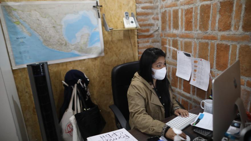 Migrantes fijan su esperanza en un México con récord de solicitudes de asilo