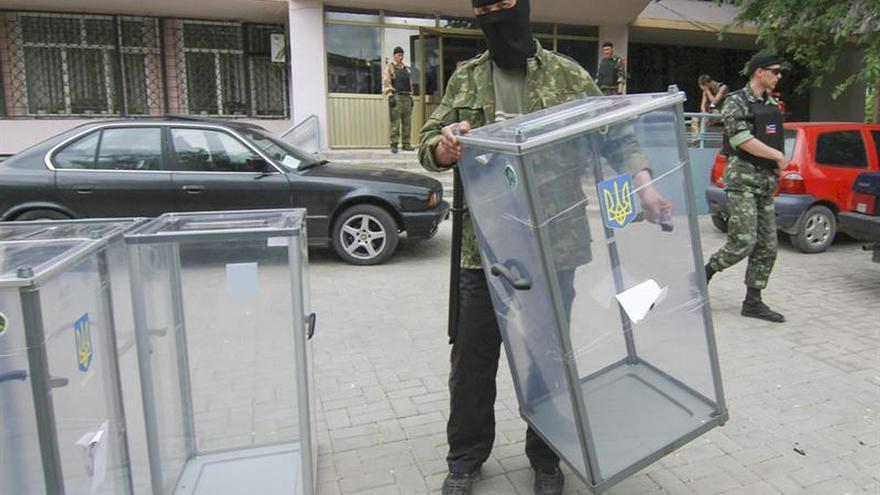 Kiev llama a los habitantes de zonas separatistas a no votar en las elecciones ilegales