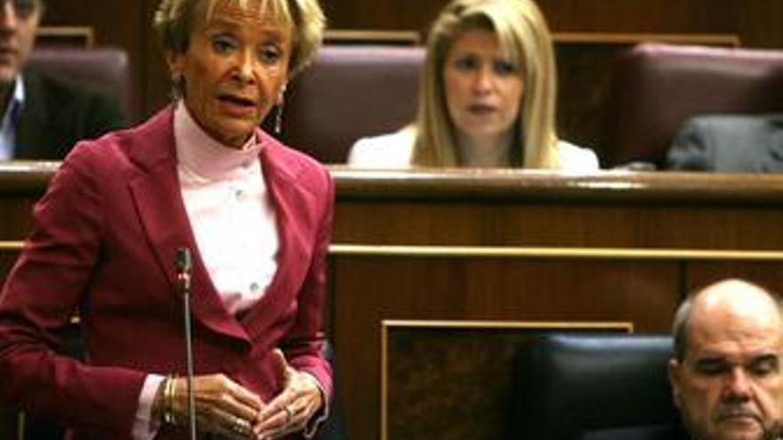 De la Vega, en el Congreso de los Diputados