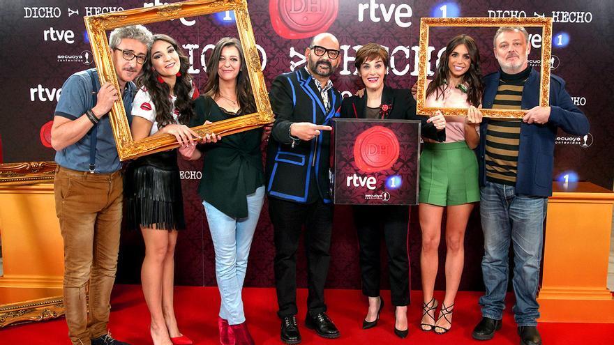 Dicho y hecho en TVE, los viernes contra Bertín e Hipnotízame