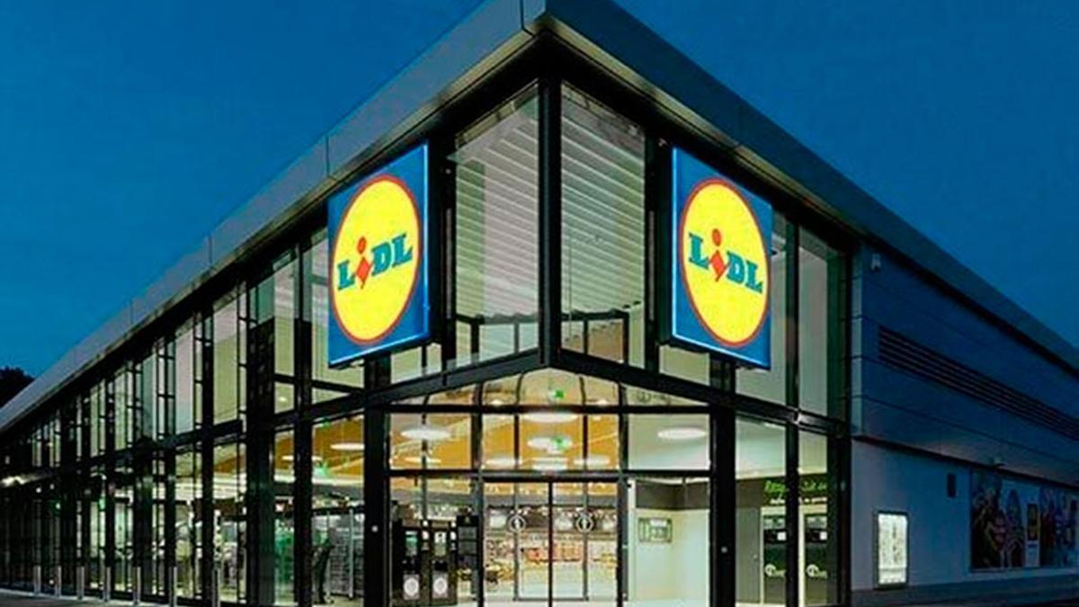 Imagen de un supermercado Lidl.