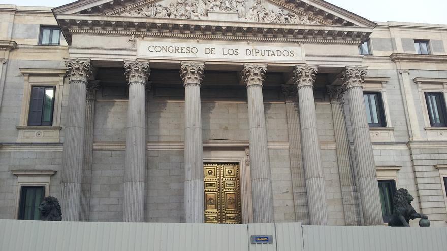 El Congreso saca a concurso un contrato de 257.000 euros para reformar la fachada de uno de sus patios