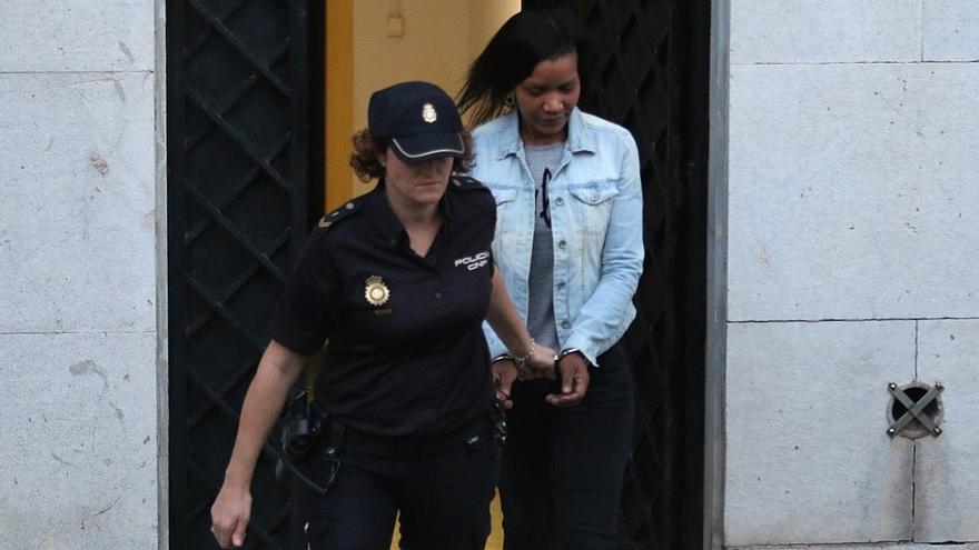 Ana Julia Quezada abandona la Audiencia Provincial de Almería tras conocer el veredicto de culpabilidad