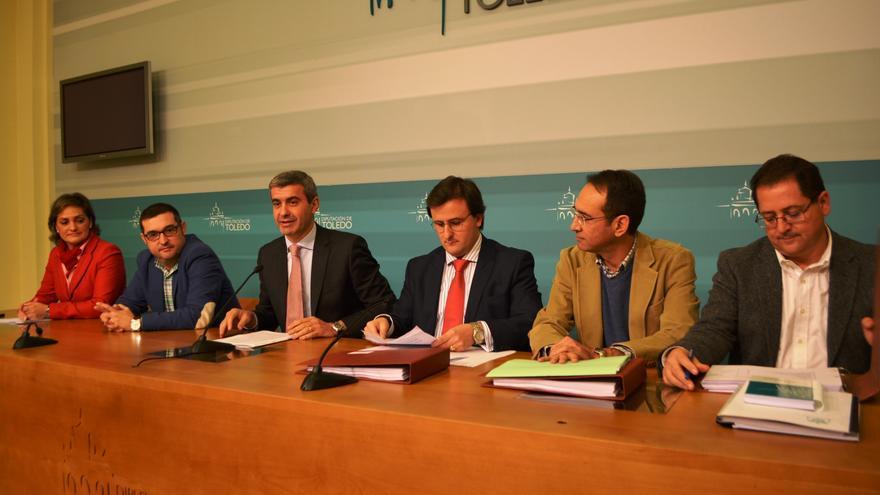 Presentación presupuestos de la Diputación de Toledo 2016