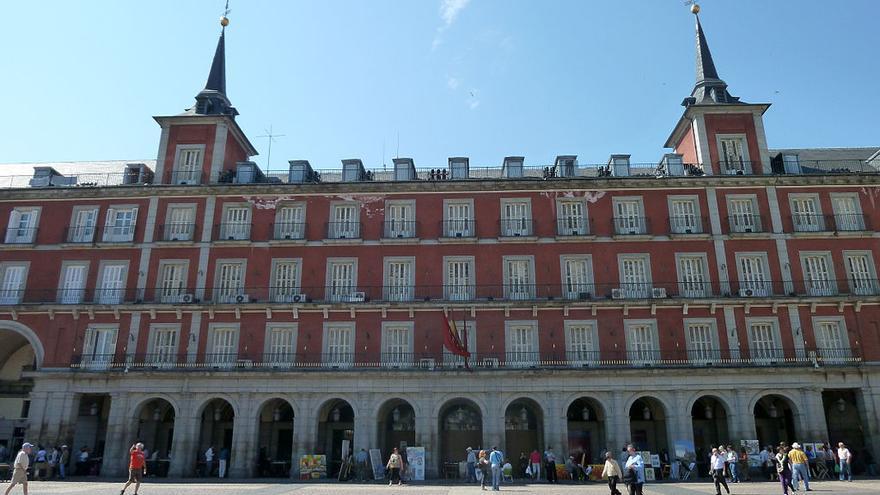 Casa de la Carnicería (Plaza Mayor de Madrid)   Wikipedia