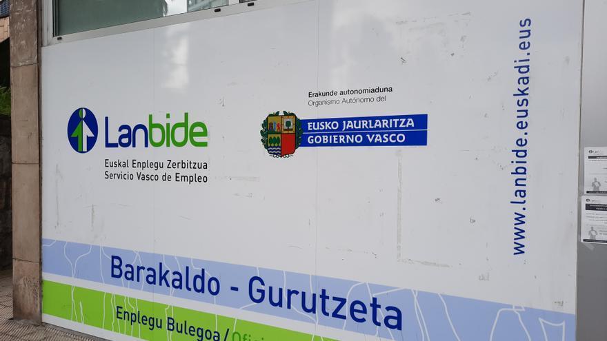 Oficina de Lanbide en Barakaldo (Bizkaia)