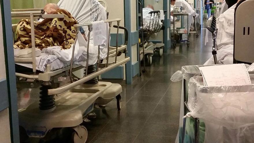 Colapso de Urgencias en el Hospital Insular