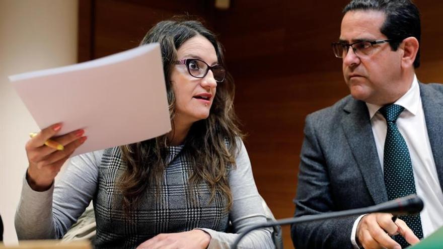 Oltra asegura que el problema de Cataluña no se arregla en los tribunales