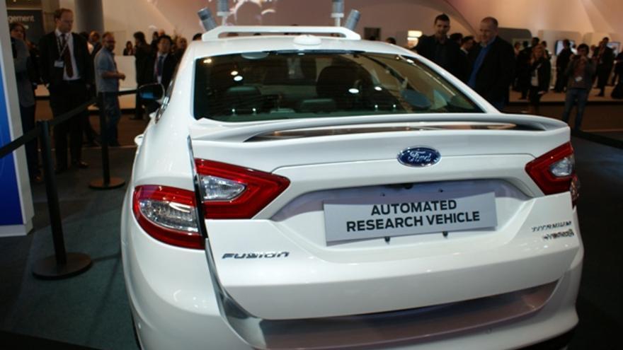 El coche experimental de Ford para la conducción autónoma