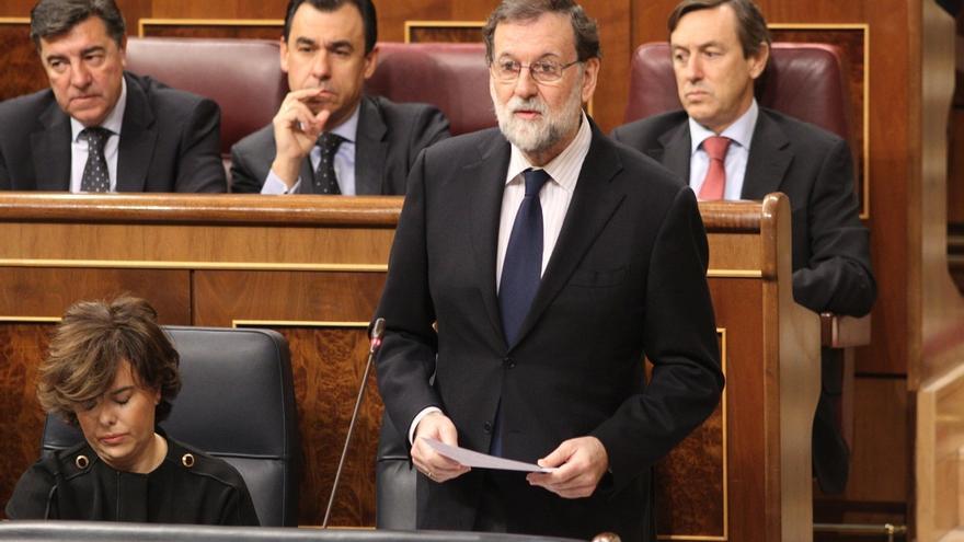 """Rajoy prevé """"normalidad y tranquilidad"""" en las elecciones y garantiza que se podrá votar """"en plena libertad"""""""