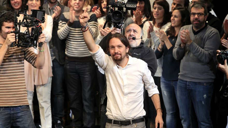 Pablo Iglesias, tras su proclamación como secretario general de Podemos. \ Marta Jara