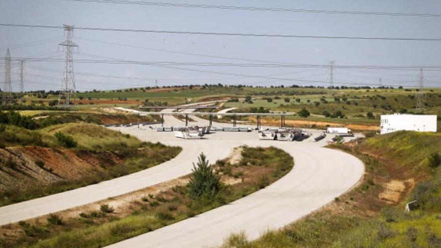 La autopista inacabada MP-203.