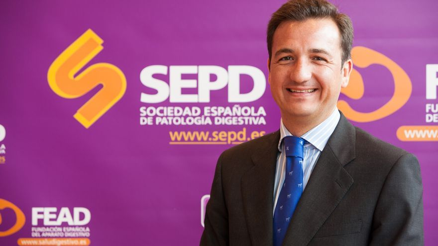Federico Argüelles, presidente de la Fundación Española de Aparato Digestivo