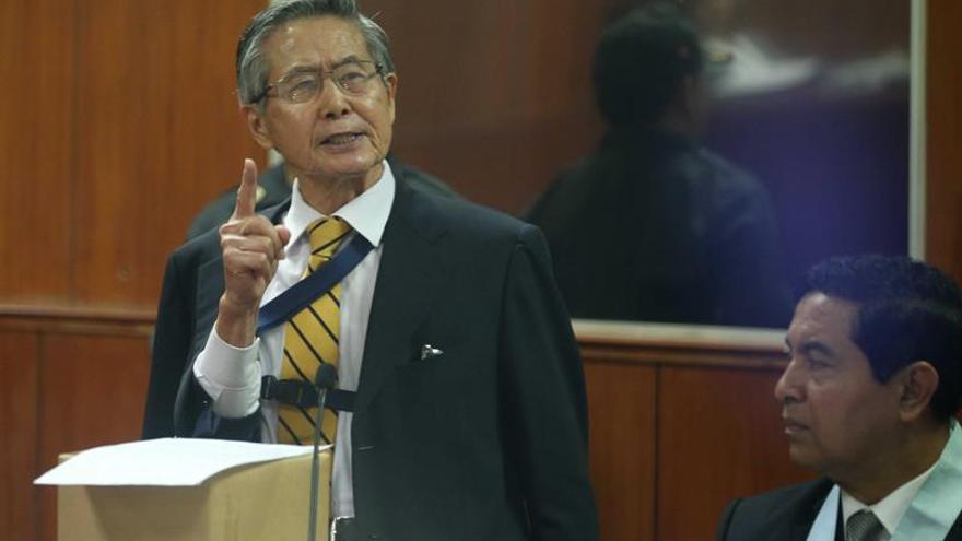 El expresidente Alberto Fujimori volvió a prisión y reclamó por un corte de electricidad y agua