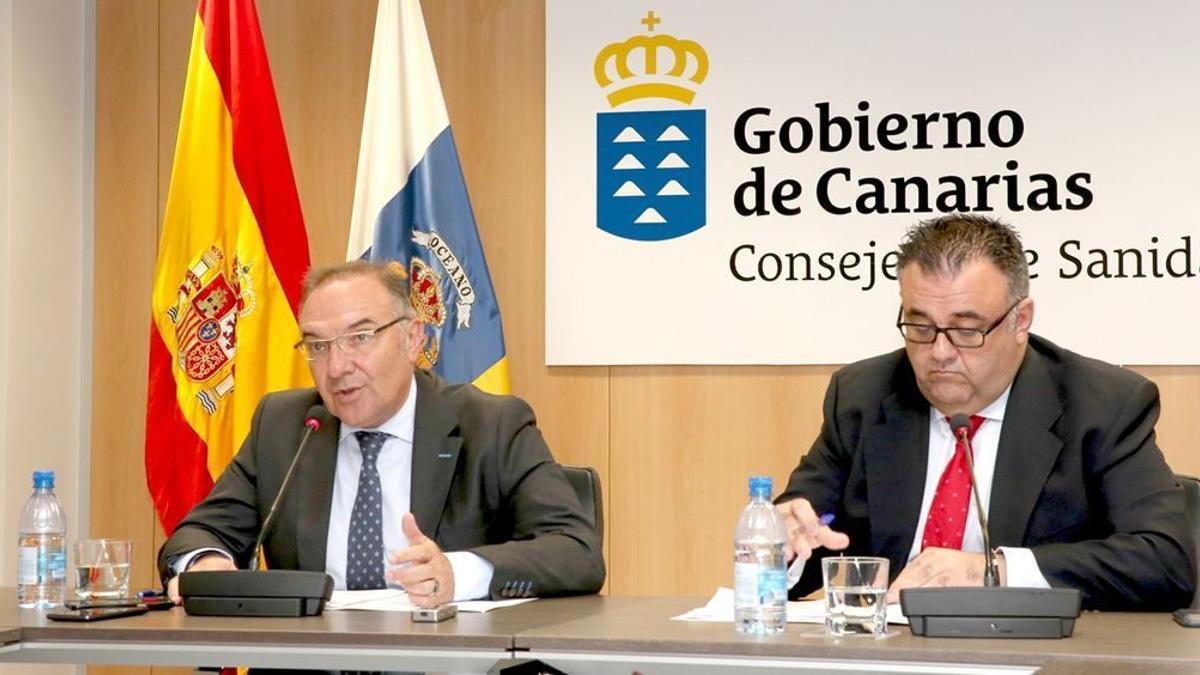 José Manuel Baltar y Conrado Domínguez.