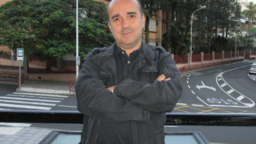 José Carlos Martín ha sido nombrado presidente de la Federación Canaria de Ajedrez. Foto: LUZ RODRÍGUEZ.