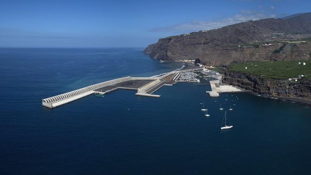Imagen de archivo del Puerto de Tazacorte.