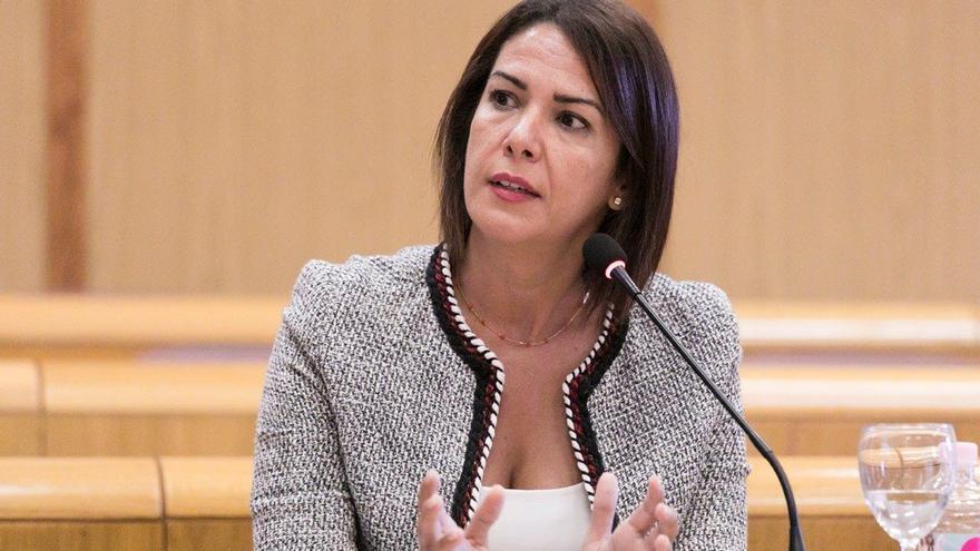 Evelyn Alonso (Cs) toma posesión como concejala en el Ayuntamiento ...