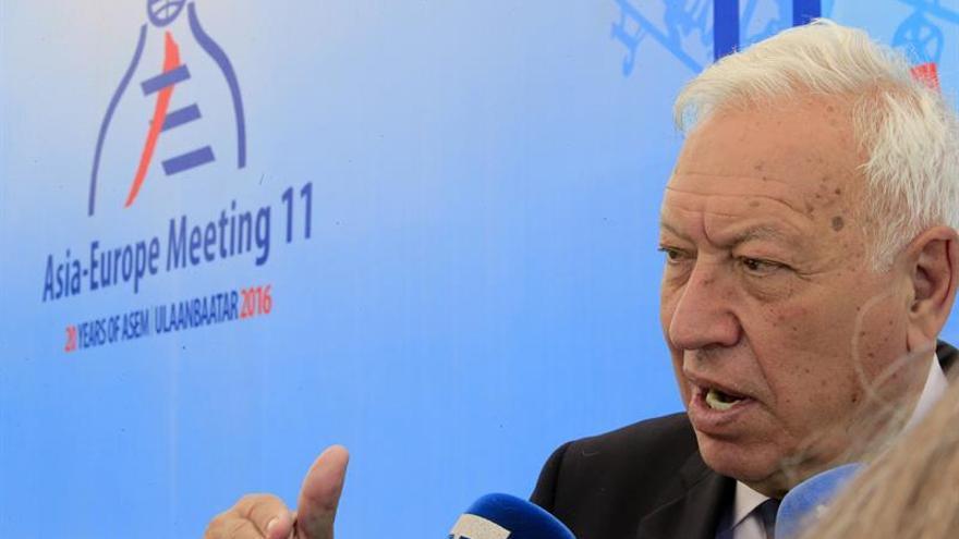 García-Margallo entendería tanto si Rajoy acude a la investidura como si no