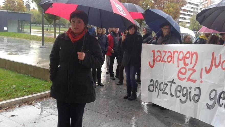"""La exalcaldesa de Baztan dice que los juicios sobre Aroztegia son un """"montaje"""" para """"callarnos"""""""