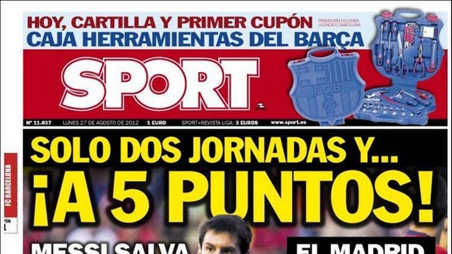 De las portadas del día (27/08/2012) #15