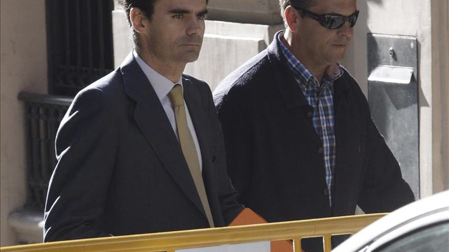 El magistrado de la Audiencia Nacional Pablo Ruz, en primer término./EFE