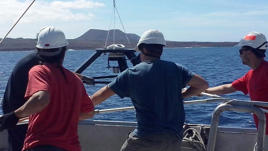 Inicio de los estudios batimétricos para la futura conexión eléctrica submarina entre Tenerife y La Gomera.