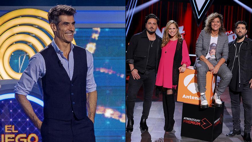 'El juego de los anillos' y 'La Voz Senior' en Antena 3