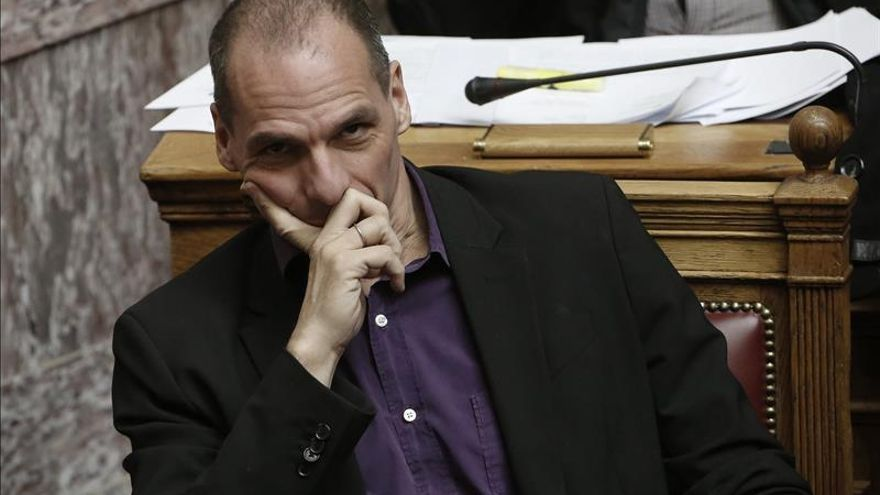 Yanis Varufakis, ministro griego de Finanzas.