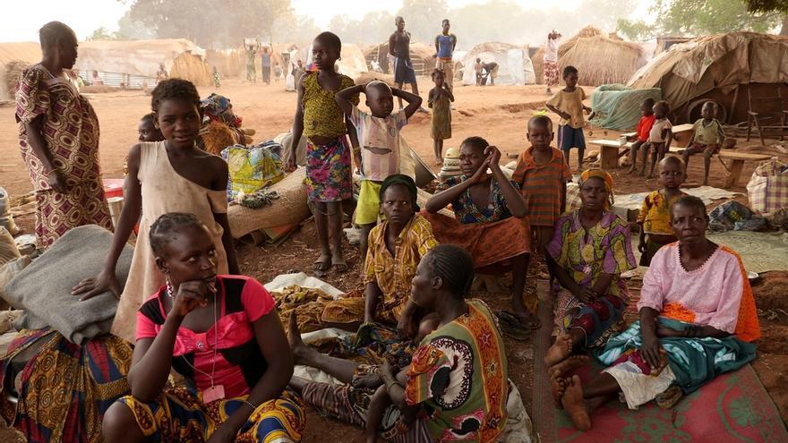 El país se hunde en la violencia y cientos de miles de centroafricanos vagan por el país / FOTO: Marta Soszynska