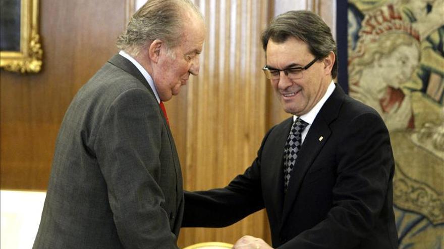 Artur Mas invoca el diálogo antes de entrevistarse con el Rey en la Zarzuela