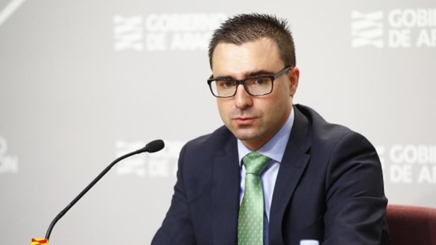 El director general de Contratación del Gobierno de Aragón, Miguel Ángel Bernal.