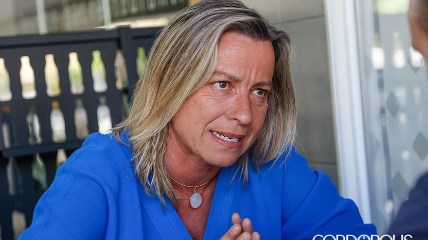 La presidenta del Imtur, Isabel Albás | ÁLEX GALLEGOS