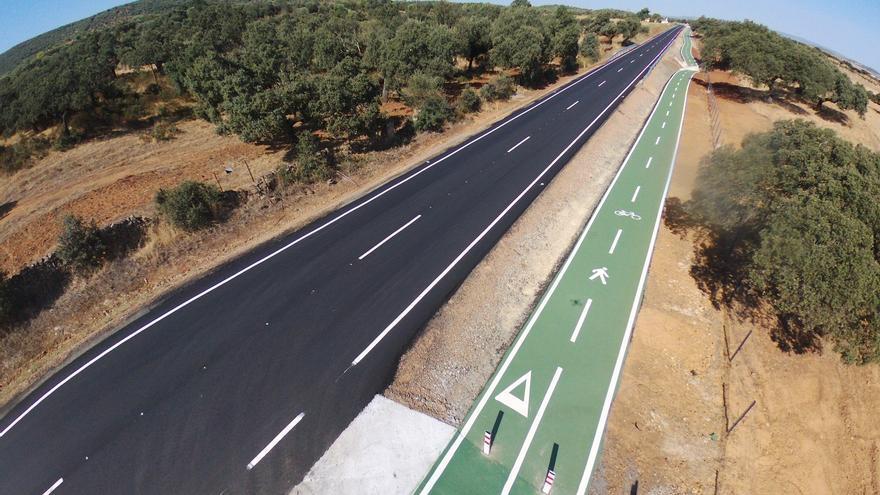 Carretera Diputación Badajoz